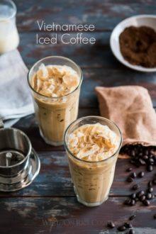 Vietnamese Iced Coffee Recipe   WhiteOnRiceCouple.com