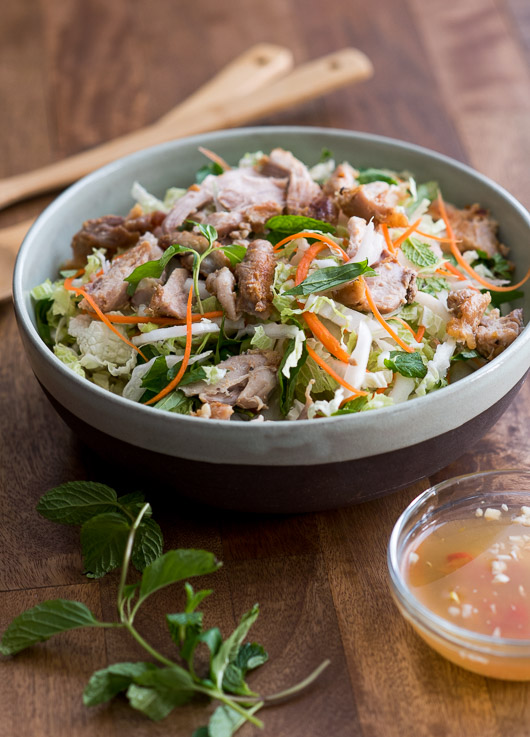 Love Vietnamese Food? You'll love this great Vietnamese Chicken Salad Recipe from @whiteonrice