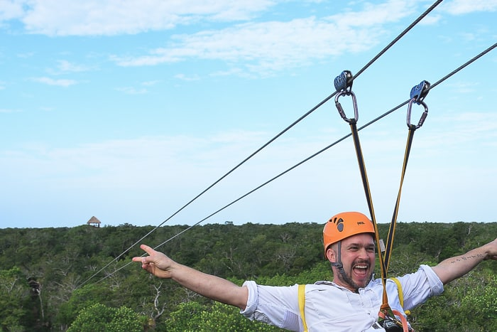 Zipling and Snorkeling at Fairmont Mayakoba | @whiteonrice