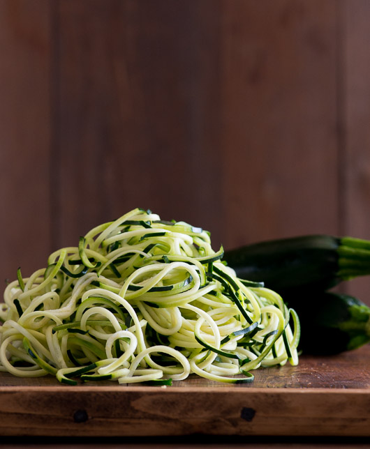"How to make healthy ""Zoodles"" Zucchini Noodles on @whiteonrice"