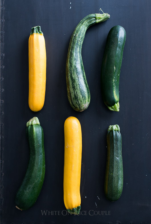 Zucchini Tartines/Toasts with Lemon & Ricotta Recipe: The perfect Summer Appetizer | @whiteonrice