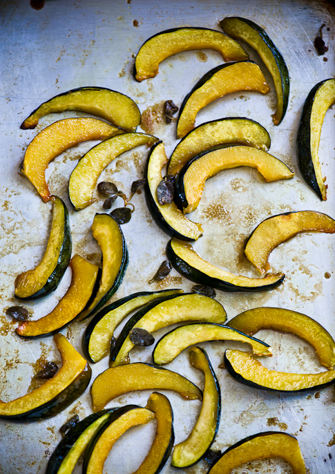 cooked squash slices