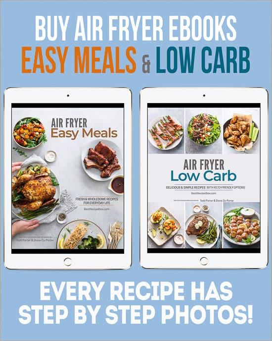 Air Fryer Cookbooks @bestrecipebox