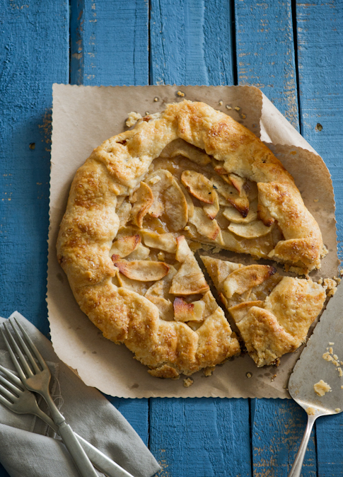 Open Faced Brown Butter Spiced Apple Pie Recipes — Dishmaps