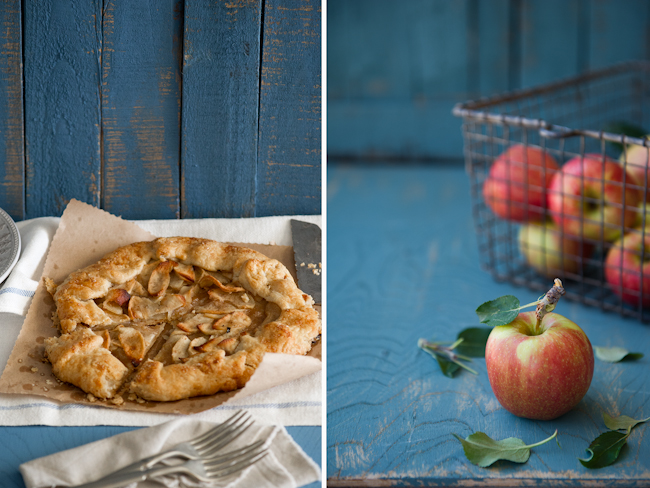 Apple galette recipe with brown butter | WhiteOnRiceCouple.com