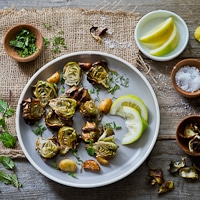 Thumbnail image for Fried Minted Artichokes – A new addition to the Spring garden
