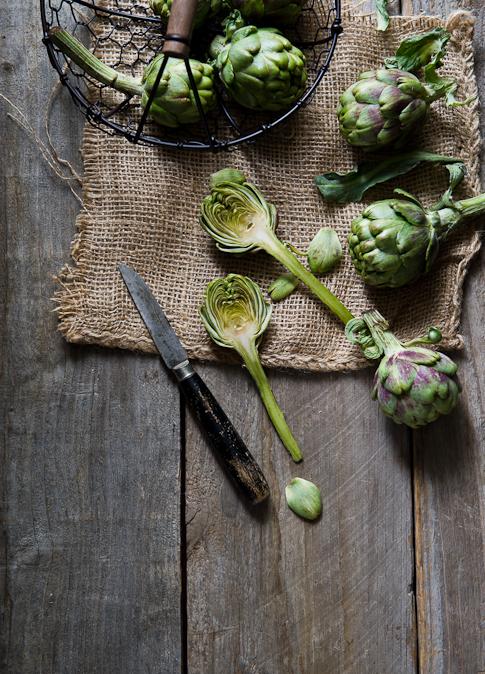 cut artichoke hearts