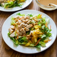 Thumbnail image for Asian Chopped Chicken Salad – a delicious fridge-clearing recipe