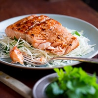 Thumbnail image for Japanese Style Glazed Salmon