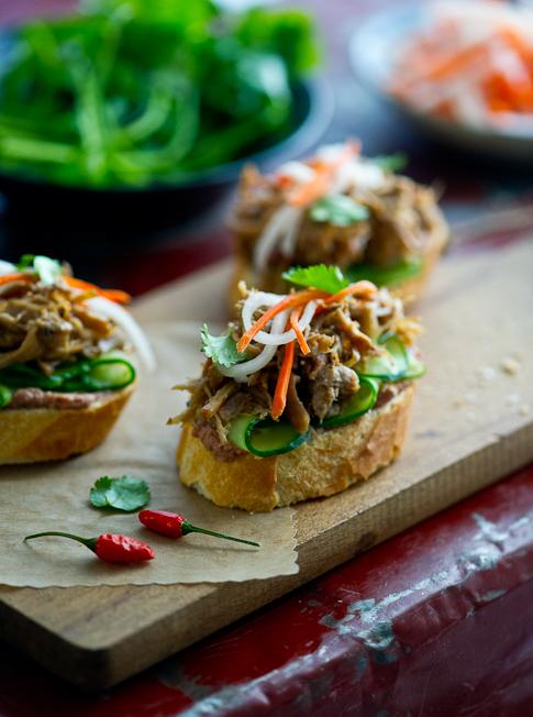 Vietnamese banh mi recipes