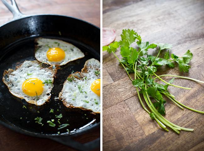 Vietnamese Banh Mi Recipe with Fried Egg   @whiteonrice