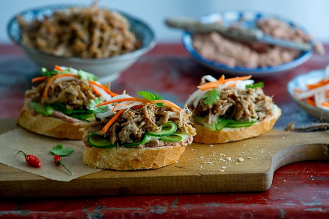 Vietnamese sandwich ingredients