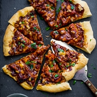 Thumbnail image for BBQ Turkey Pizza with Your Leftover Thanksgiving Turkey