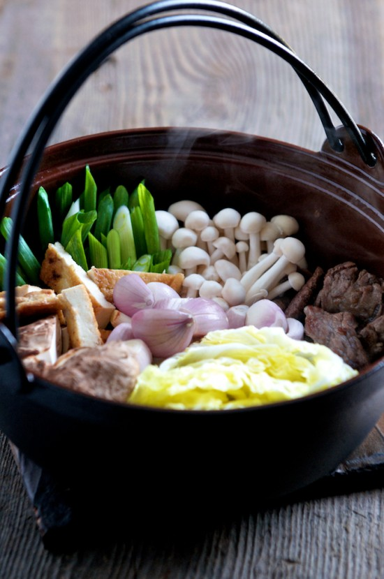 Beef Trim Sukiyaki Recipe — Dishmaps