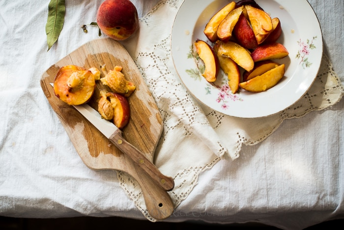 Best Recipes for Summer Peaches | @whiteonrice