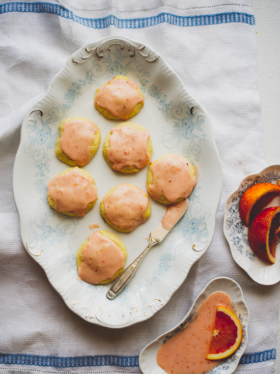 Blood Orange Ricotta Cookies on WhiteOnRiceCouple.com