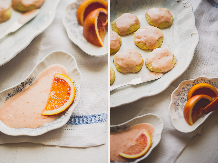 Blood Orange Ricotta Cookies Recipe from White On Rice Couple