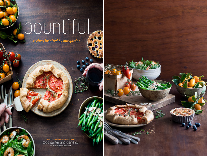 Food Book Cover Job : Behind the scenes food photography for bountiful cookbook
