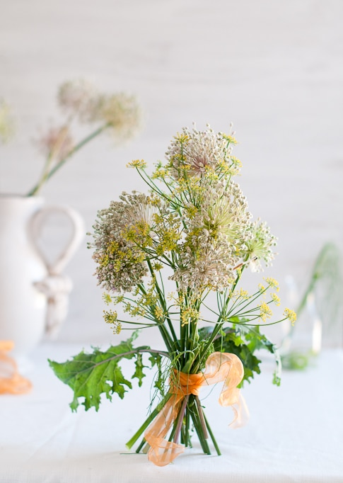 Garden Herb Flower Bouquets for you all | White On Rice Couple