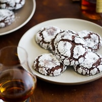 Thumbnail image for Bourbon Dark Chocolate Crack Cookies Recipe
