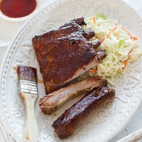 Thumbnail image for Bourbon Maple Ribs Recipe