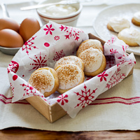 Thumbnail image for Butter Cookies w/ Eggnogg Cream Cheese Icing for Santa & Gift Guide