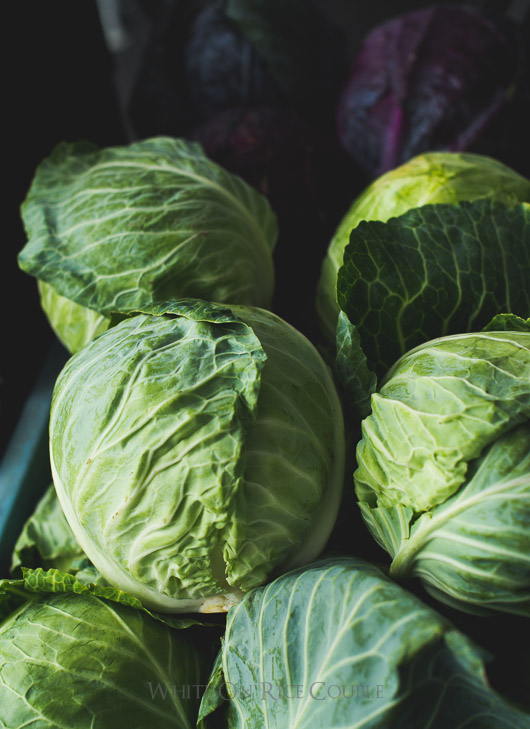 healthy veggie recipe with cabbage from @whiteonrice