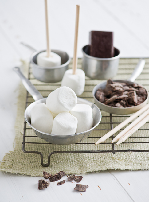 ingredients of marshmallow pops