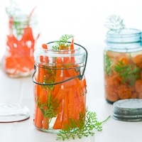 Vietnamese Style Pickled Carrots Recipe