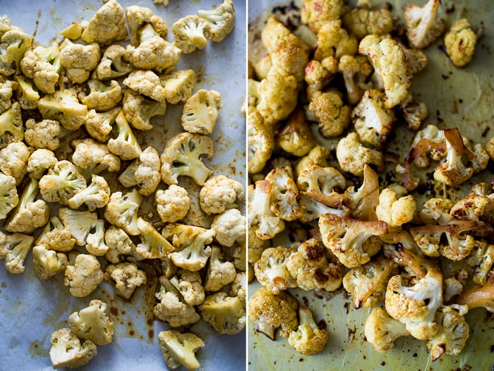 Healthy Roasted Vegetarian Vegetable Recipe on baking sheet