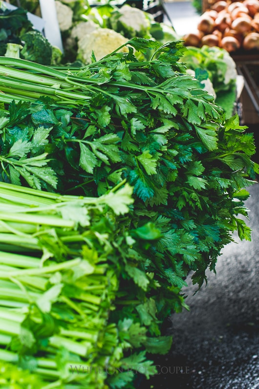 Healthy Asian Celery Shrimp Stir fry Recipe   @whiteonrice