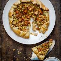 Thumbnail image for Dill Chicken Pot Pie Galette: a Pie for Fall