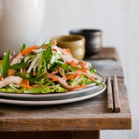 Vietnamese Chicken Salad Recipe with Fish Sauce Dressing