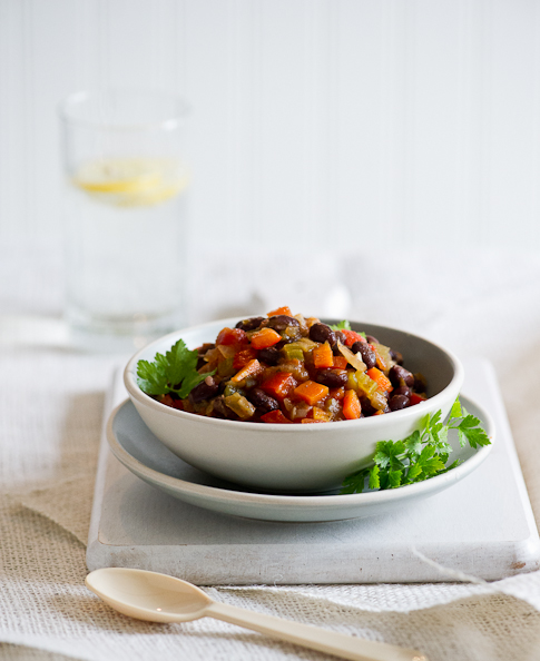 Vegetarian Chili Recipe In 30 Minutes Easy Flavorful White On Rice