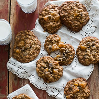 Thumbnail image for Chocolate Chip Oatmeal Cookies with Apricots