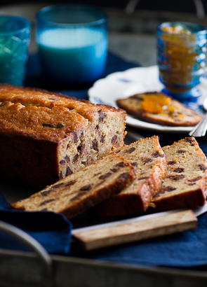 Orange-Spiced Chocolate Banana Bread