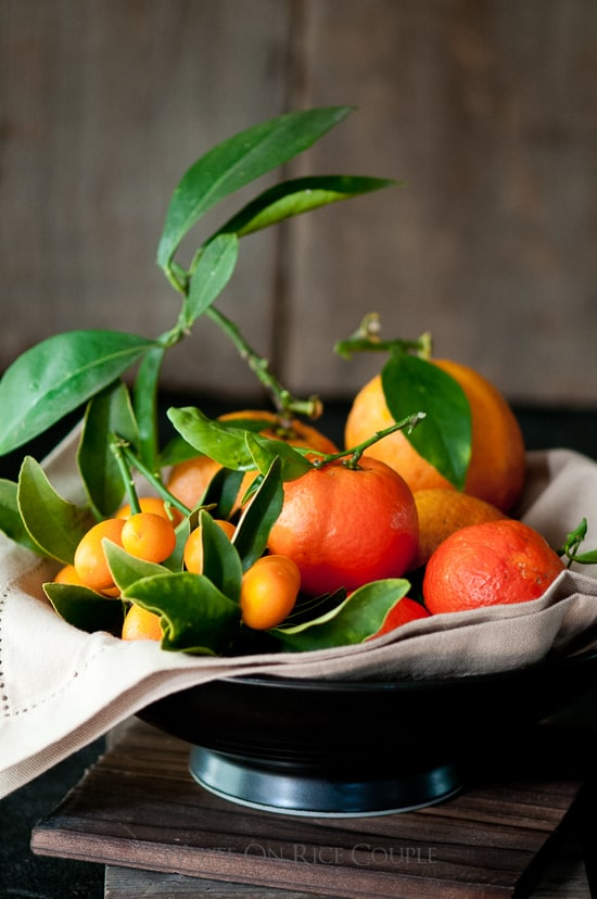 Citrus fruit from @WhiteOnrice garden