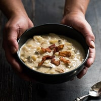 Thumbnail image for Favorite Pot of New England Clam Chowder in 30 minutes