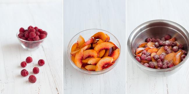 Nectarine Cobbler Recipe from WhiteOnRiceCouple.com