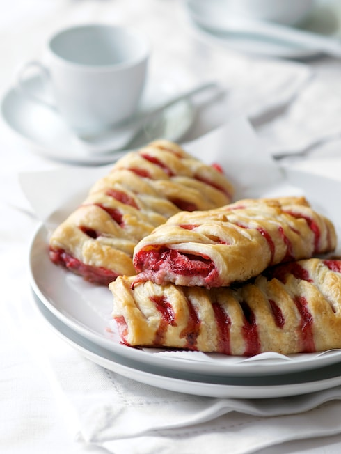 Puff Pastry Berry Hearts Recipes — Dishmaps
