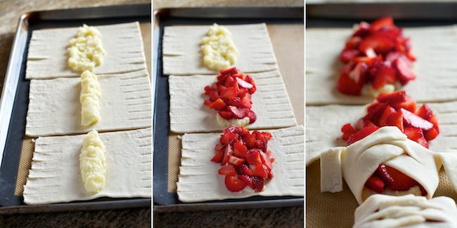 how to make berry puff pastry recipe
