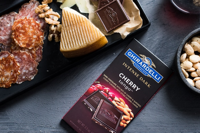 Ultimate Cheese & Charcuterie Platter Pairing with Dark Chocolate | @whiteonrice