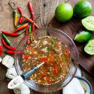 Diane's Vietnamese Fish Sauce Dip Recipe Nuoc Mam Cham | @whiteonrice