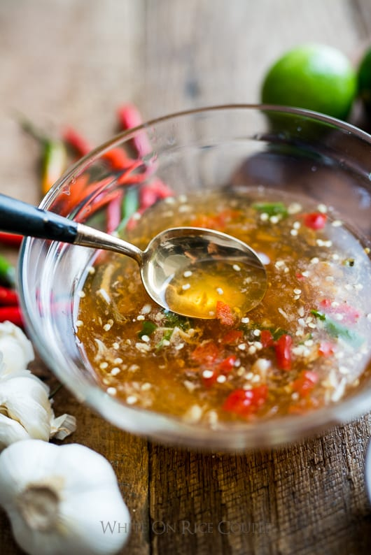 Vietnamese fish sauce dip for vietnamese food nuoc mam cham for Cooking with fish sauce