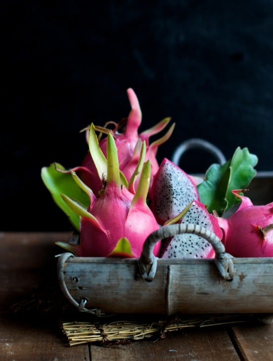 Dragon Fruit Salad Recipe with fresh Dragon Fruit | @whiteonrice