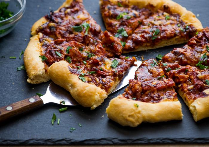 Easy Pizza Recipe  on WhiteOnRiceCouple.com