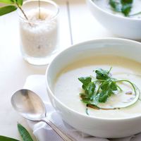edamame soybean soup