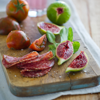 Thumbnail image for In Transition Meal: Tomatoes, Figs & Salute to Summer