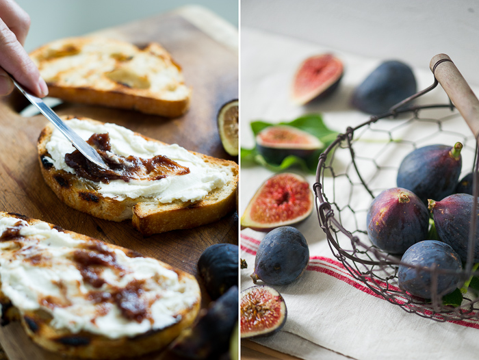 Fig and Ricotta Bruschetta Recipe White On Rice Couple