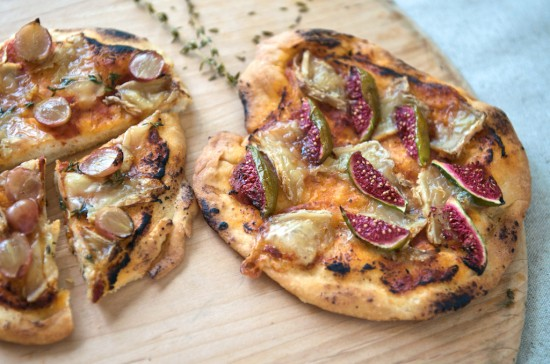 fig brie pizza